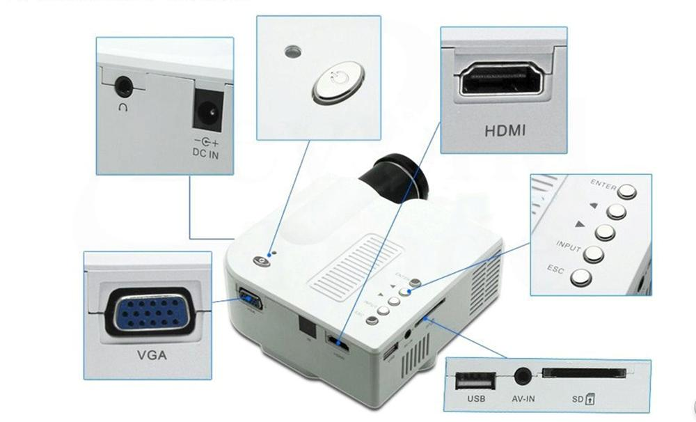Best mini led digital display projector portable media for Best portable digital projector