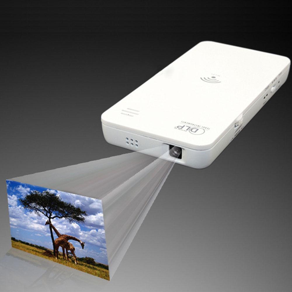 Wireless Mini Wifi Projector DLP SP W500 50 lumens 640 x ...
