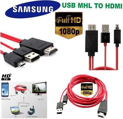 2M 1080P MHL Micro USB to HDMI HDTV ADAPTER CABLE LEAD FOR Sony Xperia HTC Samsung S5 S4 S3 S2 Tab2 Tab3 Tablet PC LG Xiaomi Cell phone