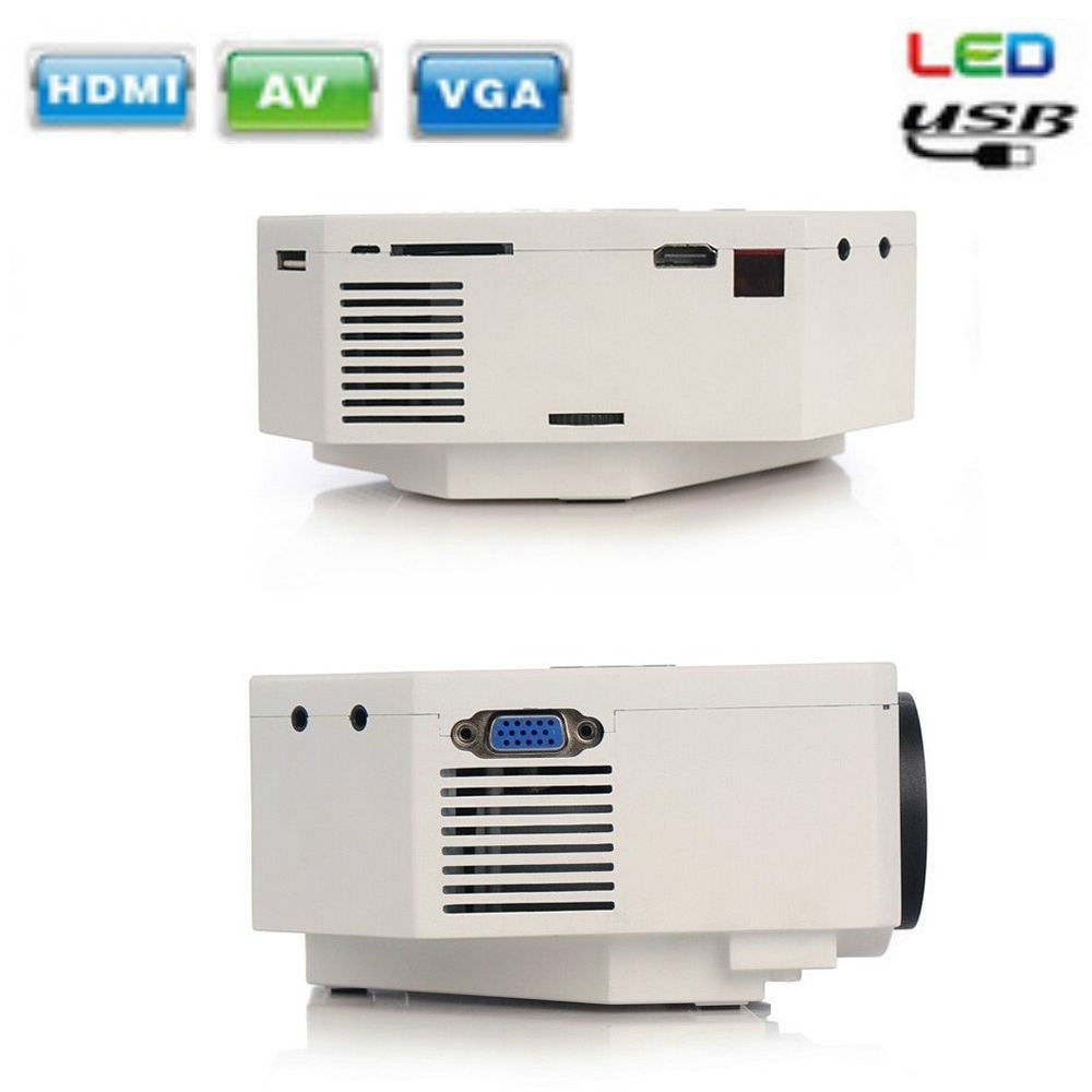 New uc30 150 lumens multi media hd portable 1080p led for Micro projector 1080p