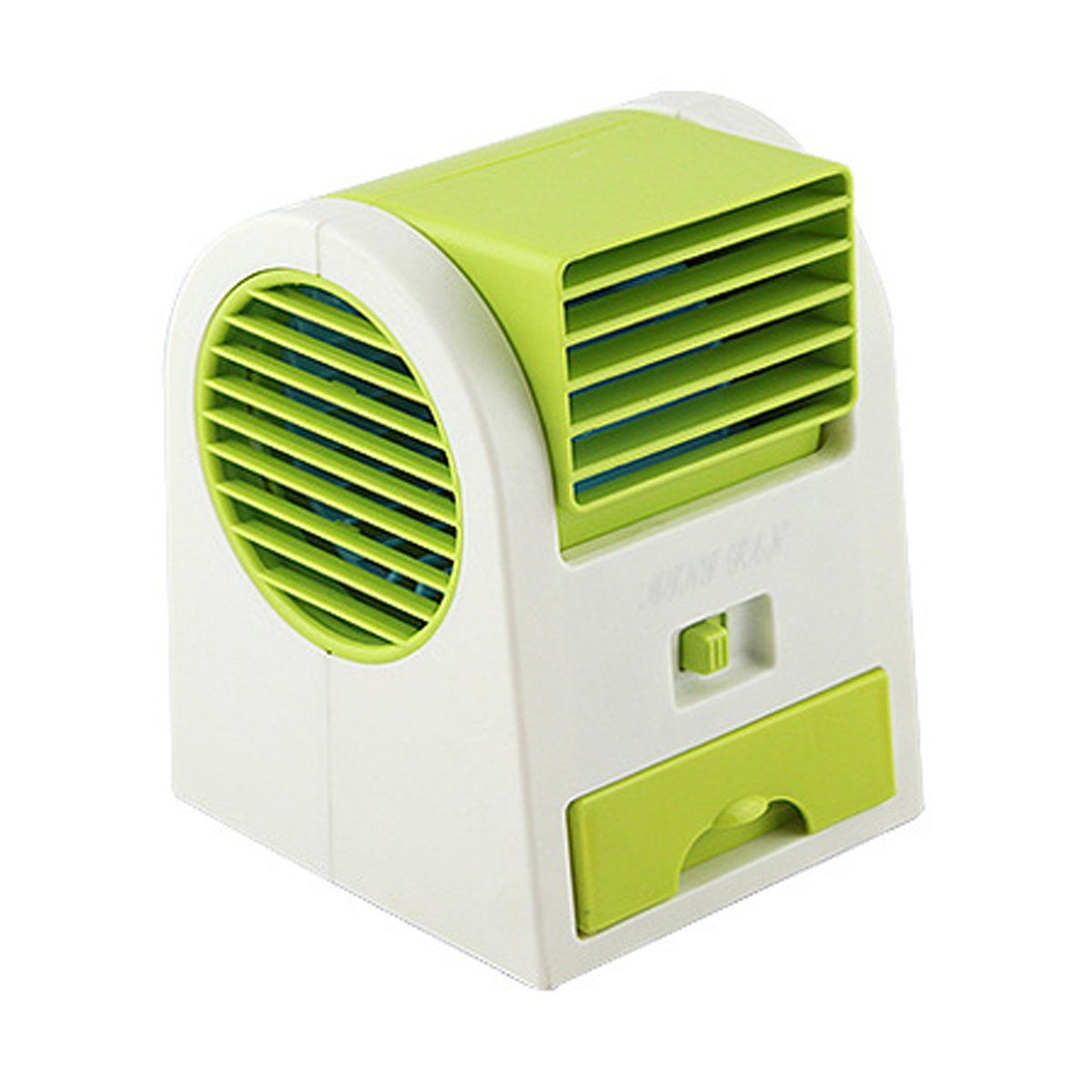 Very Small Personal Fans : Air conditioner fan desktop dual bladeless usb portable