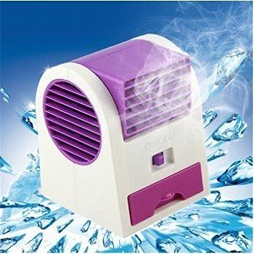 Air Conditioner Fan Desktop Dual Bladeless Usb Portable