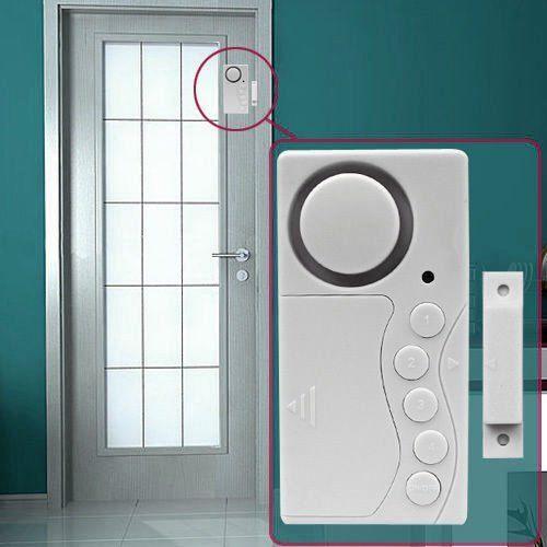 6x home door window motion detector burglar entry wireless s