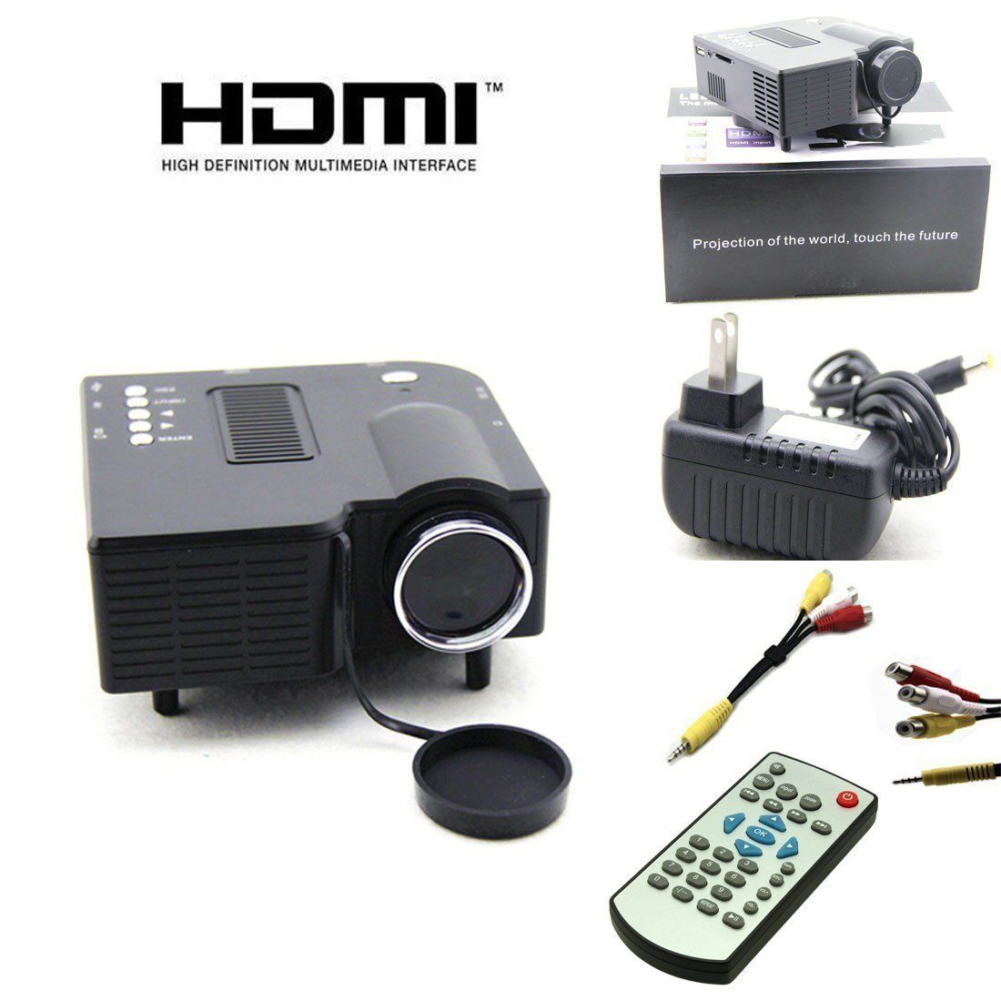 Popular E03 Tv Projector Mini Led Projector Home Theater: Best Mini LED Digital Display Projector Portable Media