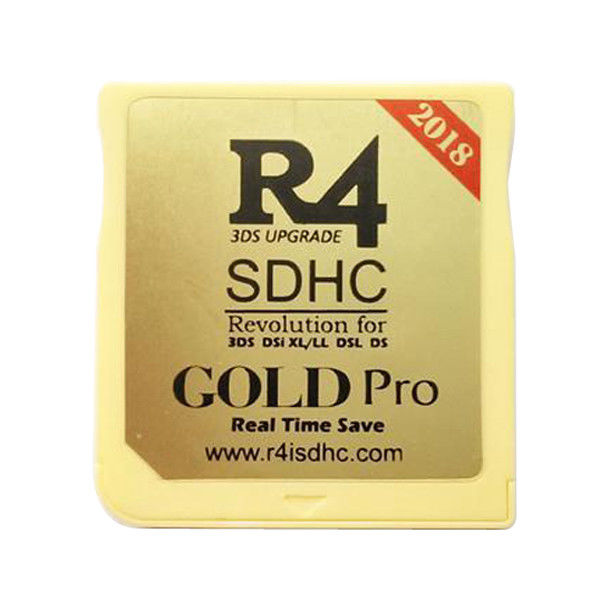 R4 R4i SDHC RTS Lite Dual Core Flash Card Adapter for